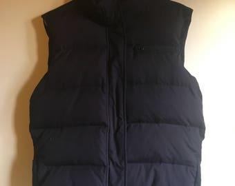 vintage down vest / gilet