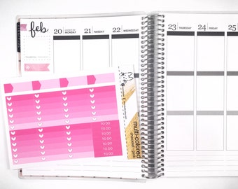 Pink Ombre Heart Checklist! Perfect for the Erin Condren Life Planner!