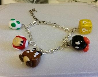 Super Mario Charm Bracelet