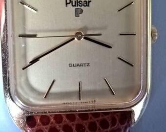 Super condition vintage Pulsar gents dress watch