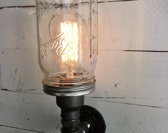 Mason Jar Lighting Etsy