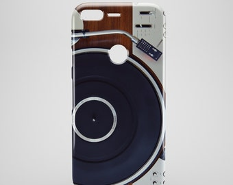 Retro Turntable google pixel phone case, google pixel XL case, google pixel 2 case, google pixel XL 2 cases hipster,