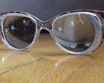Vintage Filos model 6037 glasses frames-made in Italy in leather case