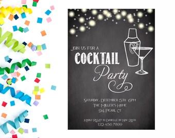 Happy Hour Invite Etsy