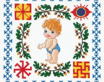 Cross Stitch Kit Baby boy