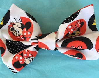 Minnie Mouse hairbow