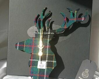 Harris Tweed Clock