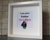 I Am Your Father - Christmas Darth Vader Star Wars picture - can be personalised!