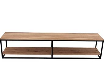 TV-bank Lowboard TEVELO big-industrial shoe rack seat