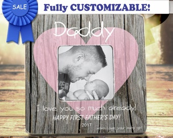 first fathers day gift first fathers day new dad gift for new dad new daddy gift personalized picture frame for husband dad gift dad frame