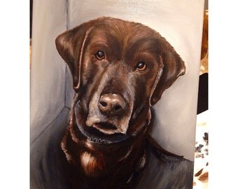 Mothers Day Pet portrait, dog painting, pet painting, animal painting, custom pet portrait, Labrador, boston terrior paintings