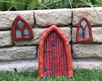 Fairy door and windows
