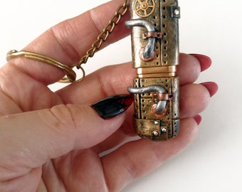 Steampunk USB Flash Drive 32 GB. Steampunk Polymer Clay