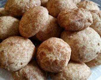 Homemade Snickerdoodle Cookies - 36 Cookies