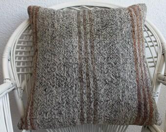 24x24 decorative kilim pillow sofa pillow floor pillow 24x24 turkish kilim pillow ethnic pillow throw pillow bohemian kilim pillow 759