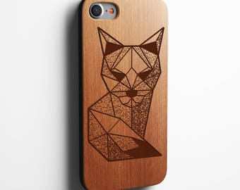 Geometric Fox iPhone 8 case. The best iPhone X , 8, 8 Plus, 7,SE,5/5s,6s/6 Plus and 7 Plus Case, also available for most Samsung Galaxy's