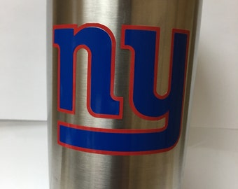 "New York Giants Decal  3"" wide x 2 "" tall"