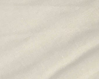 Ivory Quilter's Homespun 100% Cotton Fabric 1/2m lengths