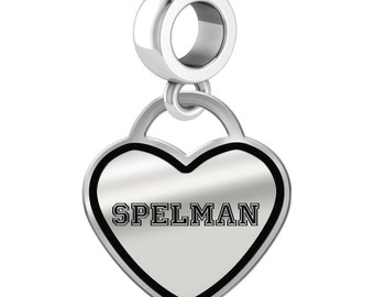 Spelman College Jaguars Dangle Charms | Sterling Silver | Multiple Styles | Officially Licensed