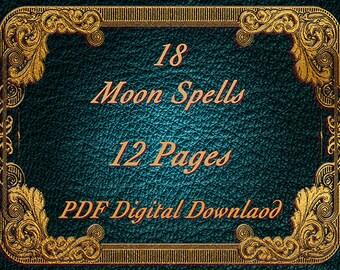 Moon Spells, 18 Spells, BOS Pages