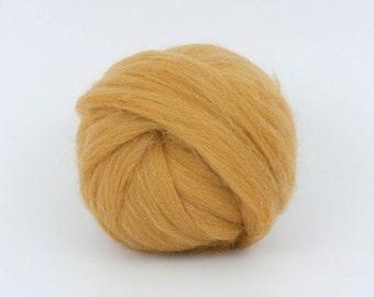 Africa B186-1, 1.78oz (50gr) 26mic merino tops felting wool, for needle felting, wet felting, spinning.
