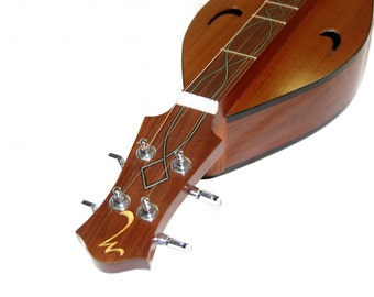 Hand Made All Solid Wood Mountain Dulcimer