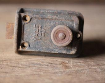 Yale deadbolt lock