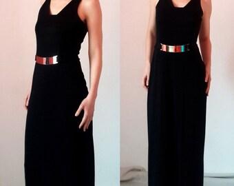 Joseph Ribkoff Creations Black Maxi Dress