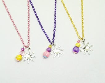 Rapunzel Tangled party favors necklaces - Free bracelet with orders of 10 + necklaces