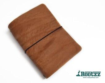 A6 Traveler's notebook cognac - midori like- fauxdori
