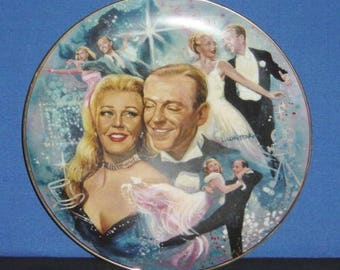 Fred and Ginger ~ MGM's The Golden Age of Cinema Collector Plate - Pre-owned (SS)