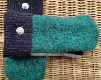Upcycled Wool Sweater Mittens