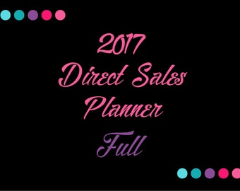 2017 Direct Sales Planner - Full