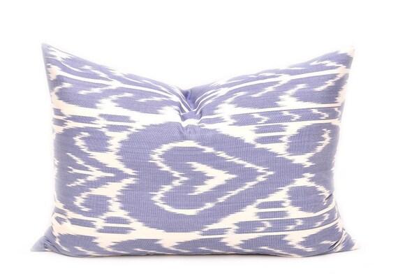 Blue Lumbar Throw Pillow : Blue Throw Pillow Blue Lumbar Pillow Blue Decorative Pillow