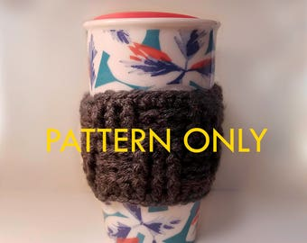 Basket Weave Mug Insulator Crochet Pattern