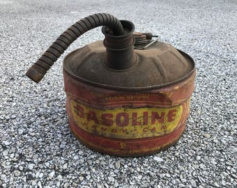 Vintage Gasoline Handy Can gas can