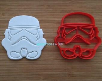 StormTrooper Star Wars Cookie Cutter, Fondant Cutter