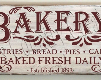 Bakery Baked Fresh Daily      SVG, PNG, JPEG