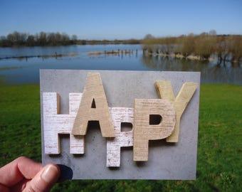 Postcard Happy