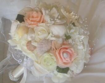 Seashell Bouquer. Xo bouquet