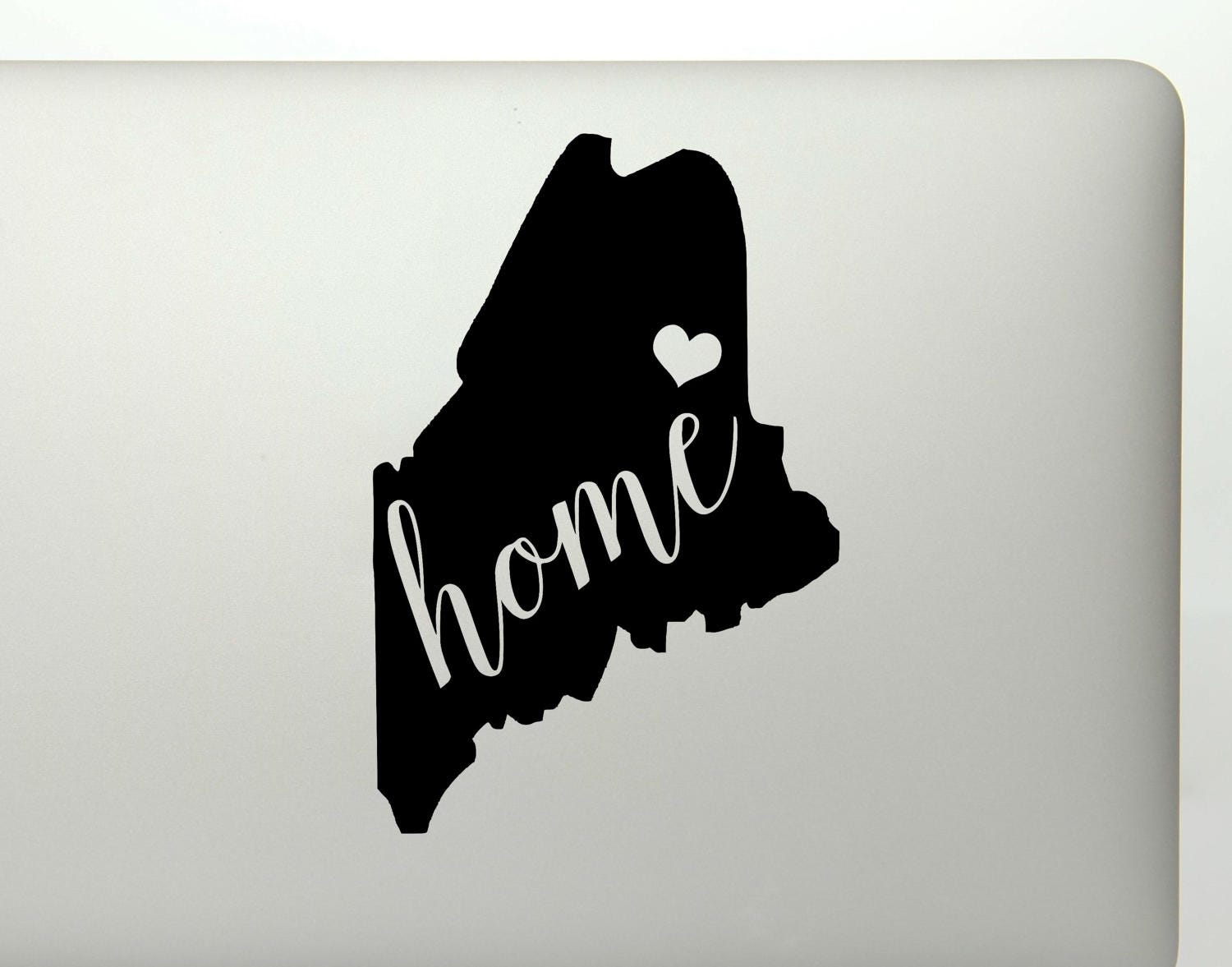 Maine Home State Die Cut Vinyl Decal Sticker For Cars - Custom vinyl decals maine