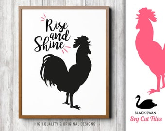 Rise And Shine Svg Etsy
