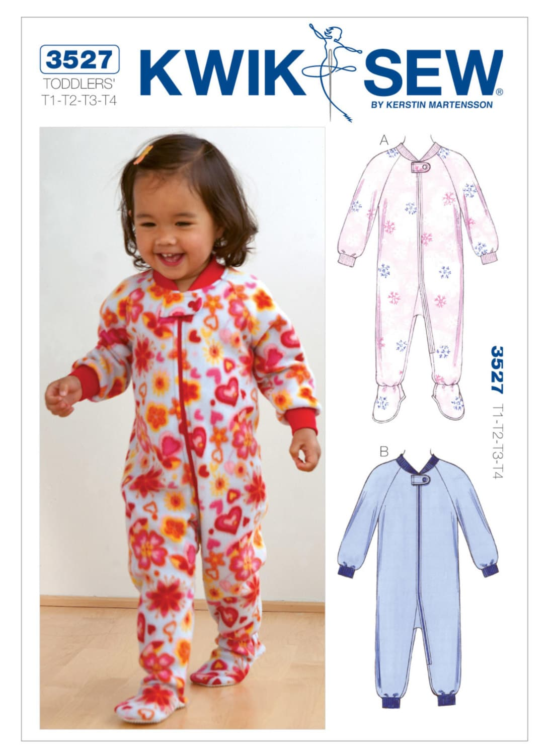 Sewing Pattern For Toddlers Jumpsuit Sleepers Kwik Sew