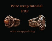 Wire wrap tutorial. Wire wrapped ring.