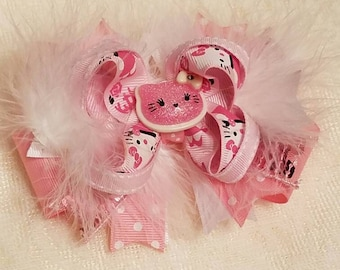 Hello Kitty Stacked Boutique Bow
