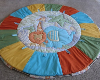 Zoo animals Baby play mat