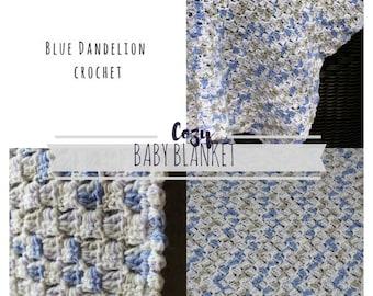 Baby blanket, Lightweight Baby Blanket, Crochet Baby Blanket, Crochet Blanket, Summer baby blanket, Summer Blanket, Pastel Blanket