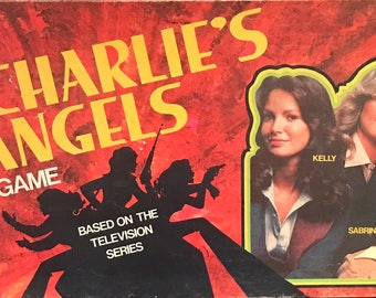 Charlie's Angels Board Game complete and never opened!