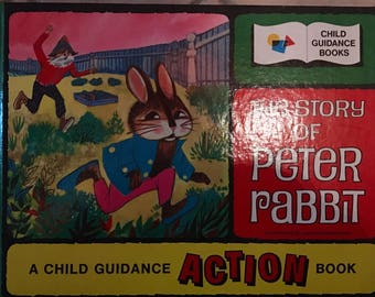 The Story of Peter Rabbit Child Guidance Action Book