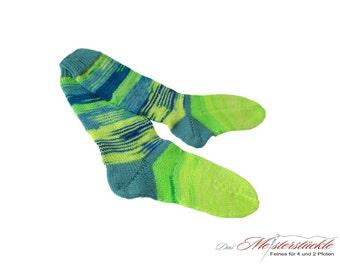 Handknitted socks size 37-38